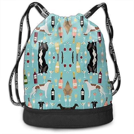 Travel Swim Travel Beam Bag Greyhounds y Wine Beam Mochila ...