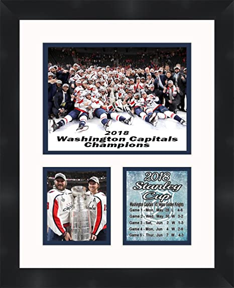 483b4a511 Image Unavailable. Image not available for. Color  Alex Ovechkin and  Nicklas Backstrom Washington Capitals 2018 Stanley Cup Champions Framed ...