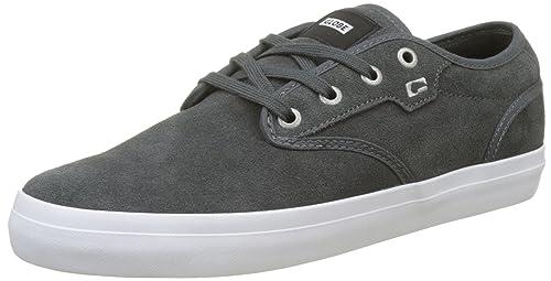 Motley, Zapatillas de Skateboarding para Hombre, Gris (Dark Shadow 0), 45 EU Globe