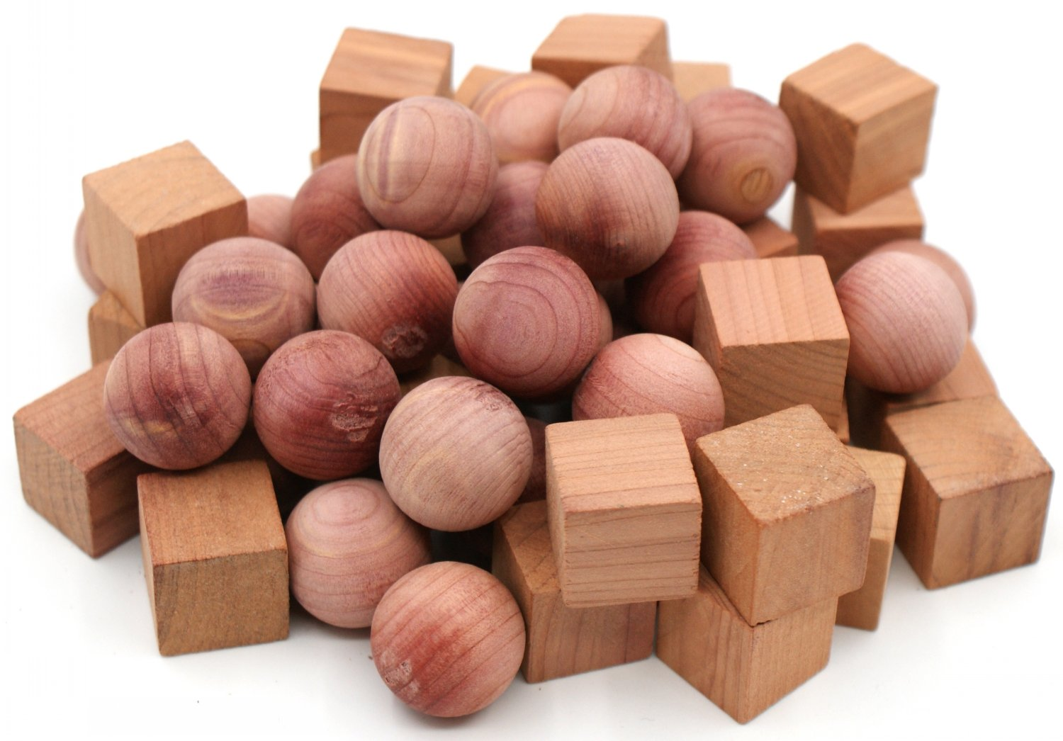 Venxic Moth Balls Repellent Cedar Ball & Cube for Drawers, 100-Pack
