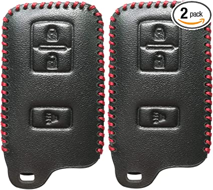 Key Fob Cover for 2015 2016 2017 2018 Toyota Tacoma Remote Case Skin Jacket