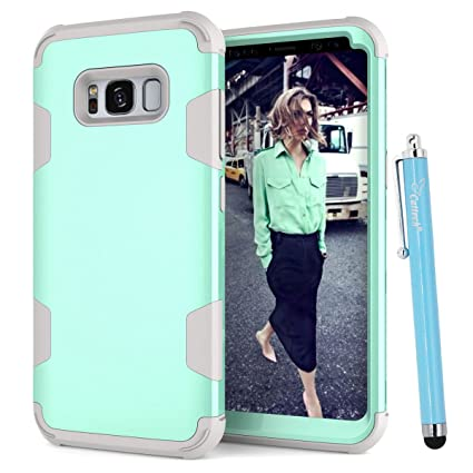 Amazon.com: S8 Case, Galaxy S8 Funda Híbrida de, cattech ...