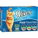 9Lives Favorites Variety Pack Canned Cat Food
