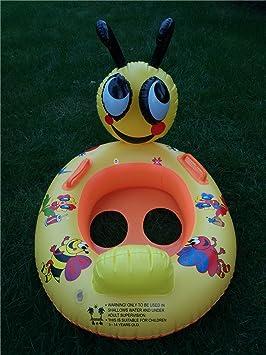 Barco Inflable Barco flotante al volante flotador asiento Waterpark Amusement Park para niños bebés de 4 - 18 meses: Amazon.es: Jardín