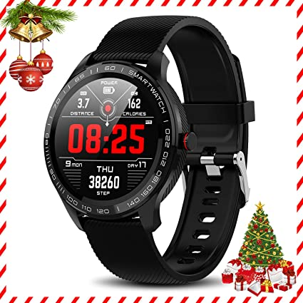 Amazon.com: Yocuby Sport Smartwatch for Android iOS Phone ...