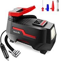 VacLife Tire Inflator for Car Tires, Bicycles with Schrader Valve and Other Inflatables