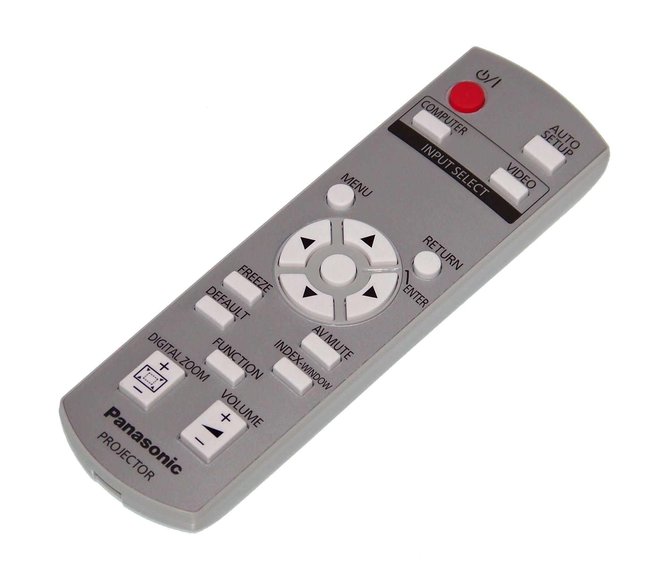 OEM Panasonic Remote Control Originally Shipped With PTLB78VU, PT-LB78VU, PTLB75U, PT-LB75U, PTLB90, PT-LB90
