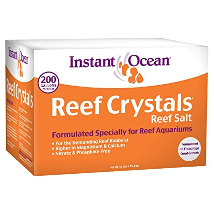 Image result for 9- Instant Ocean Reef Crystals Reef salt for reef aquariums