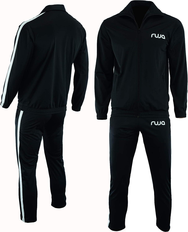 Ruja Mens Pro Classic Premium Quality Sweat Tracksuit