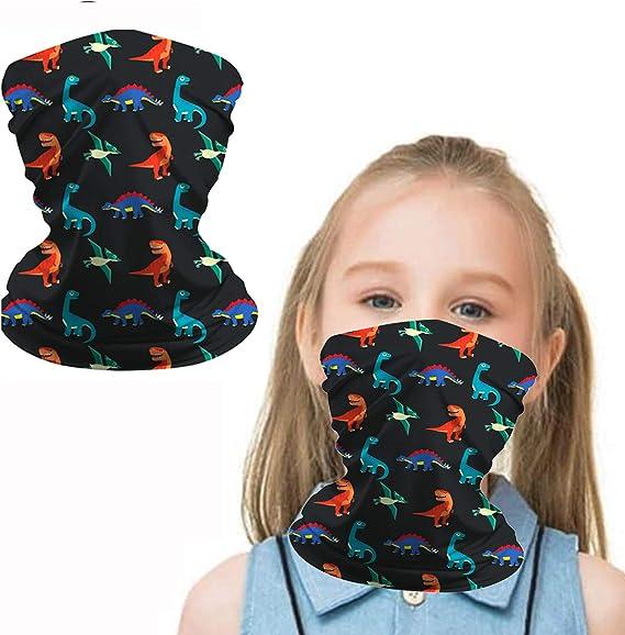 Details about  /Kids Neck Gaiter Kids Summer Face Covering for Children Bandana Face Scarf Headb