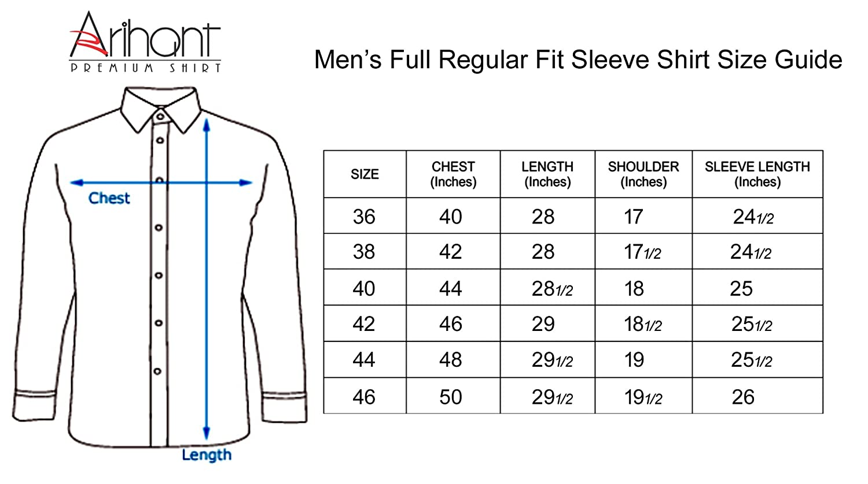 42 Size Shirt