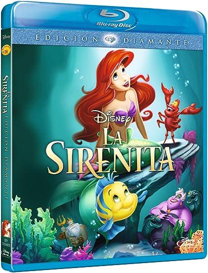 La Sirenita [Blu-ray]: Amazon.es: Ron Clements, John Musker ...