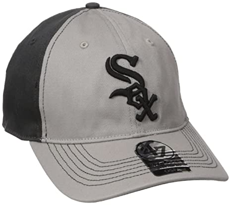 c4ded4ec38f Amazon.com    47 MLB Chicago White Sox Umbra Closer Stretch Fit Hat ...