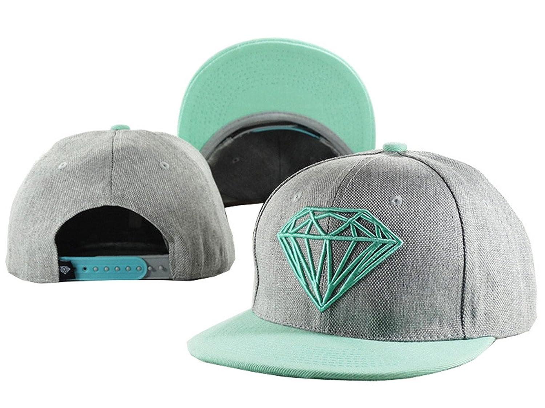 Aidan Ellazar Diamond Cap Men & Women's Baseball Snapback Hats One Size