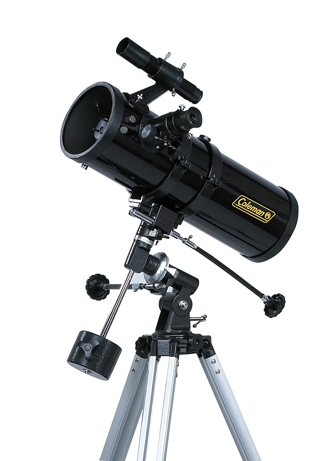 Coleman CDB1145EQ1 500x114 Telescope (Black)