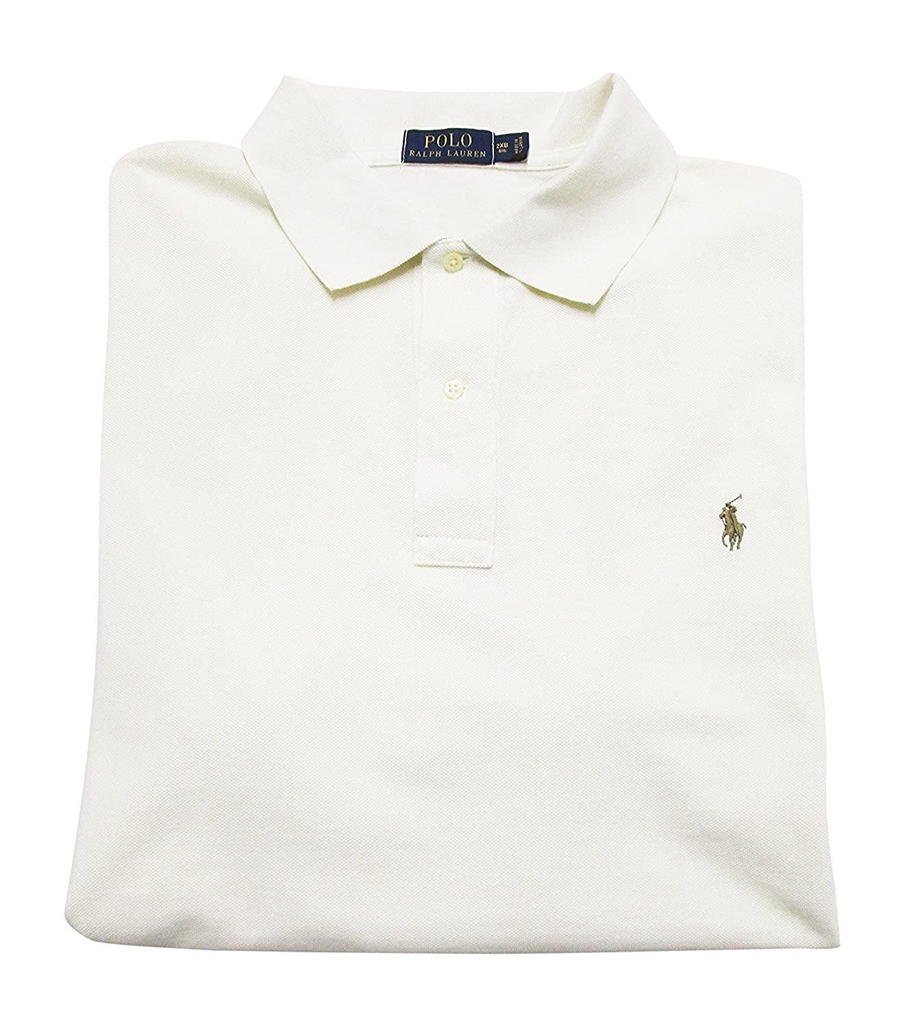 b98b51988d1214 Amazon.com  Polo Ralph Lauren Mens Classic Fit Big and Tall Mesh Polo Shirt   Polo RALPH LAUREN  Clothing