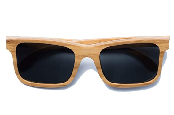 f590a9779b1 Image Unavailable. Image not available for. Color  Carver Bamboo Sunglasses  (Honey)