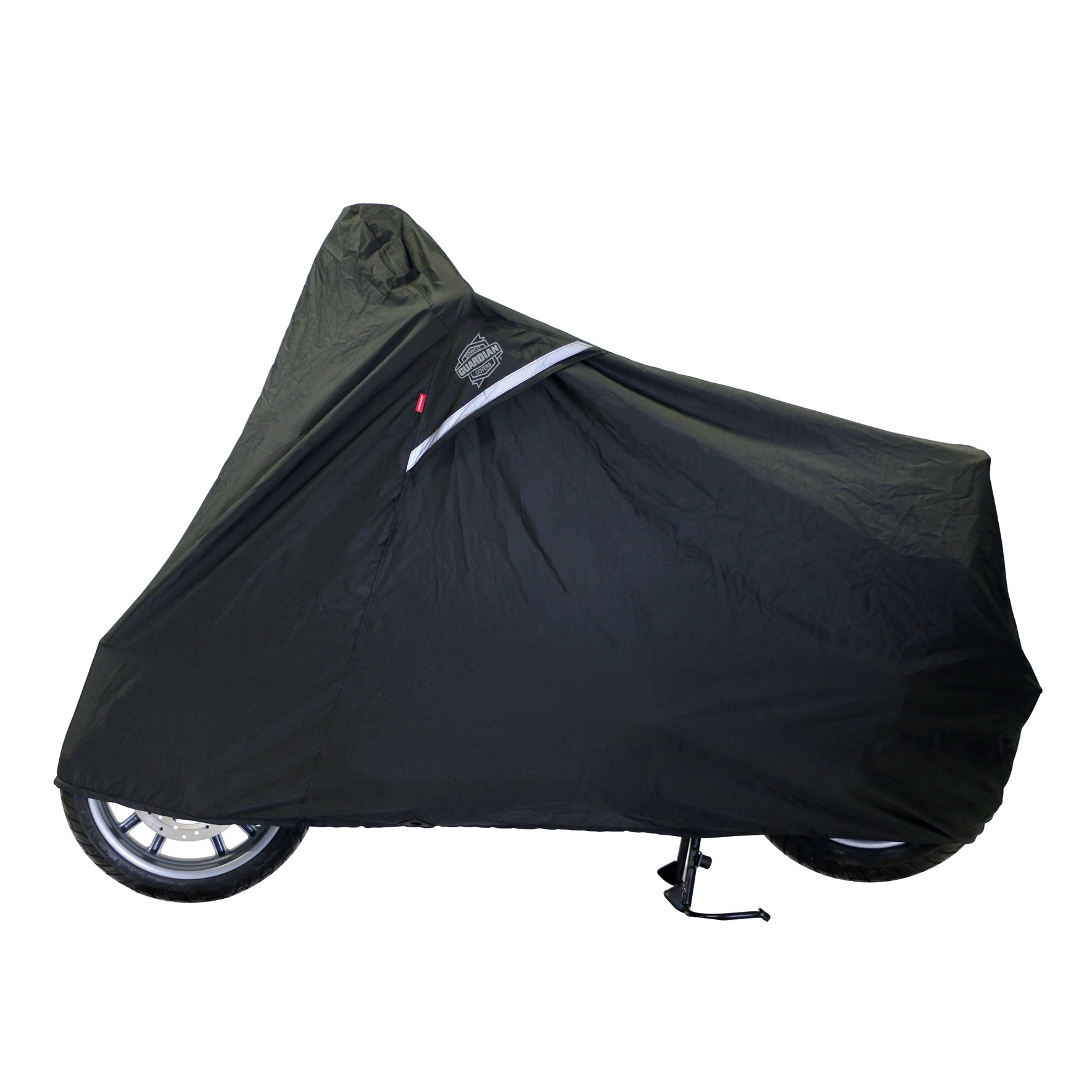 Dowco Guardian 05142 WeatherAll Plus Indoor/Outdoor Waterproof Motorcycle Cover: Black, Large Scooter by Dowco