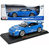 Porsche 911 GT3 RS 4.0 1/18 Blue Special Edition