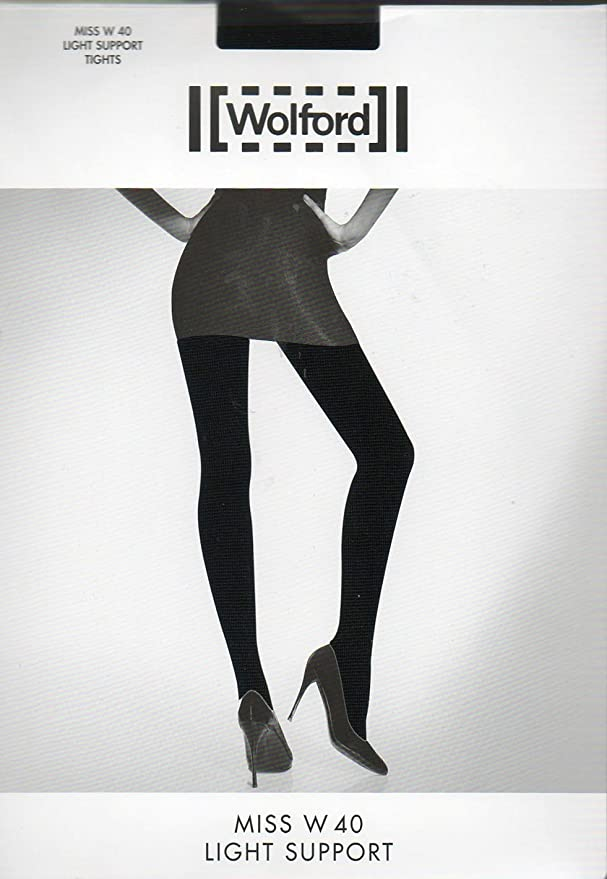 88c17213b Wolford Miss W 40 Light Support Tights at Amazon Women s Clothing store