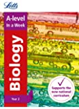 Letts A-level Revision Success – A-level Biology Year 2 In a Week