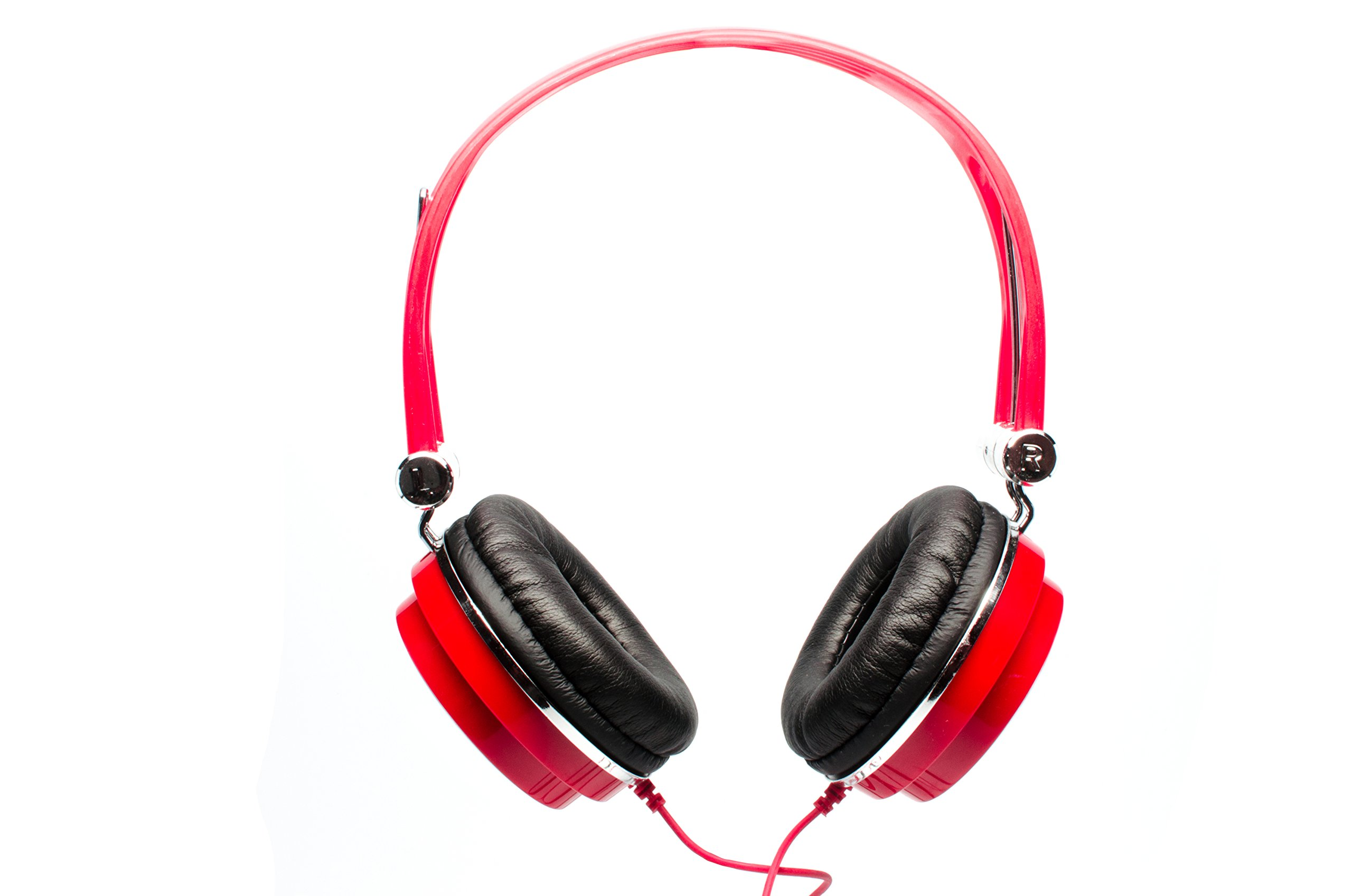CAD Audio MH100R Closed-Back Mid-Size Studio Headphones, Red by CAD Audio