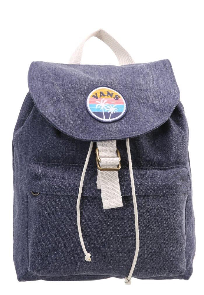 c0bc9017000 Amazon.com: Vans Right On Mini Backpack Denim: Sports & Outdoors