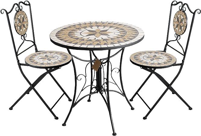 Multistore 2002 Siège Groupe Salon de jardin table ronde en ...