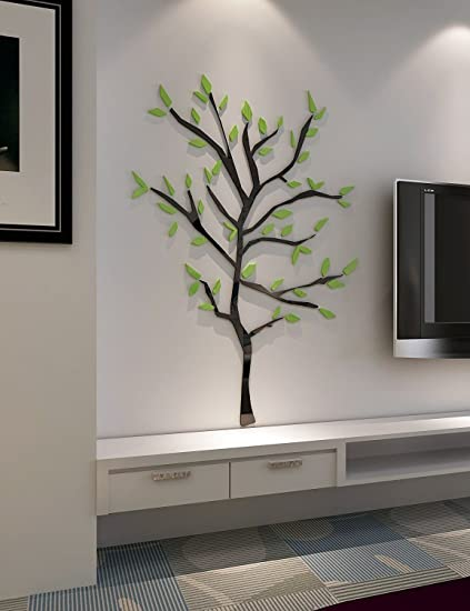 Well known 3d Tree Branches Wall Murals for Living Room Bedroom Sofa Backdrop  TV85