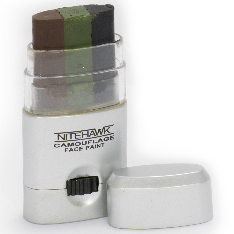 Nitehawk - stick a sccomparsa con 3 colori per trucco mimetico facciale