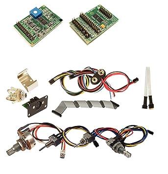 Amazon.com: Graphtech Acoustiphonic/Hexpander Bass Kits PK-0780-00 ...