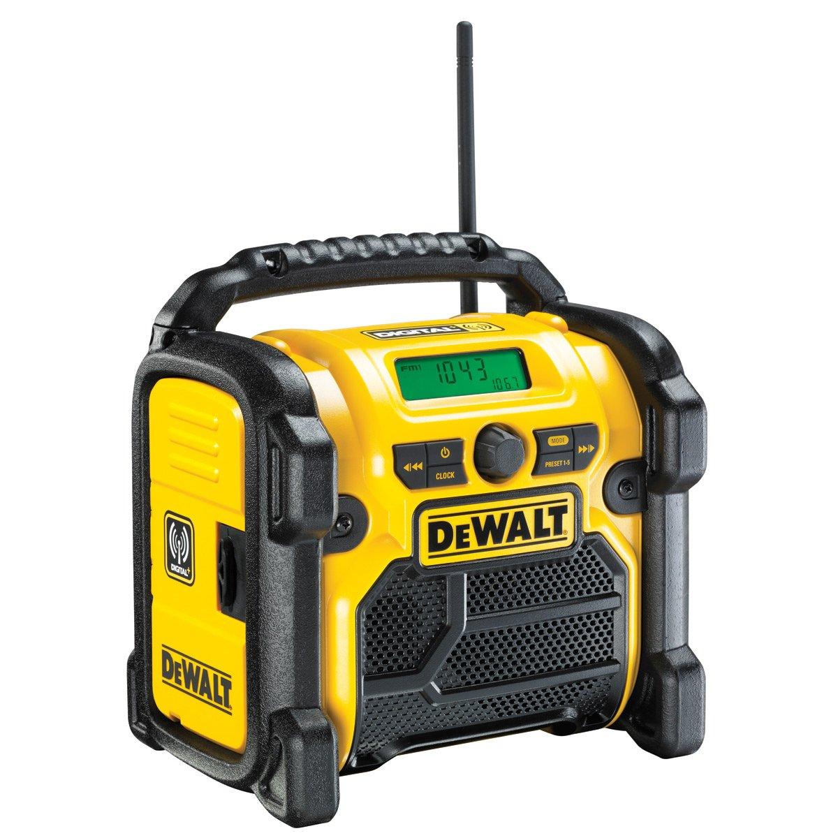 DeWalt DCR020-GB Compacto Jobsite Dab Radio