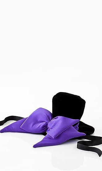 637cb4b4804 Amazon.com  Purple Bow Vampire Hat  Clothing