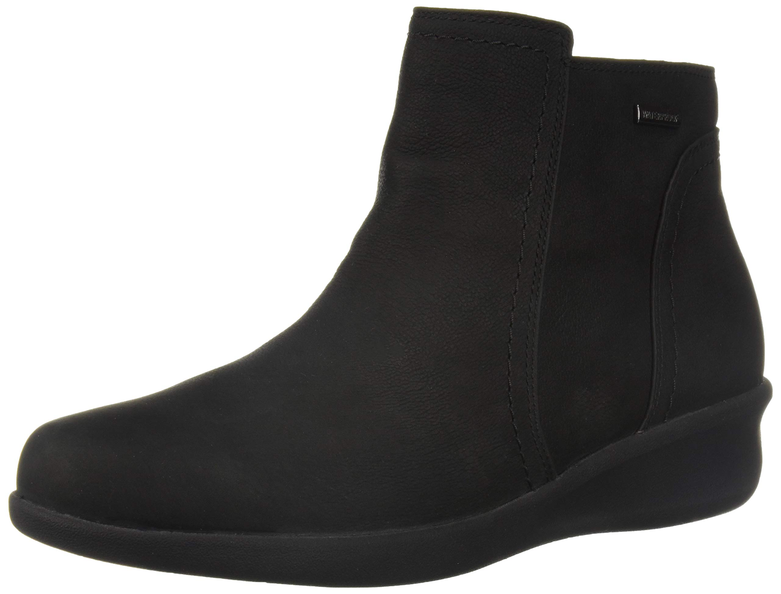 Aravon Women's Fairlee Ankle Boot, Black, 12 B US by Aravon