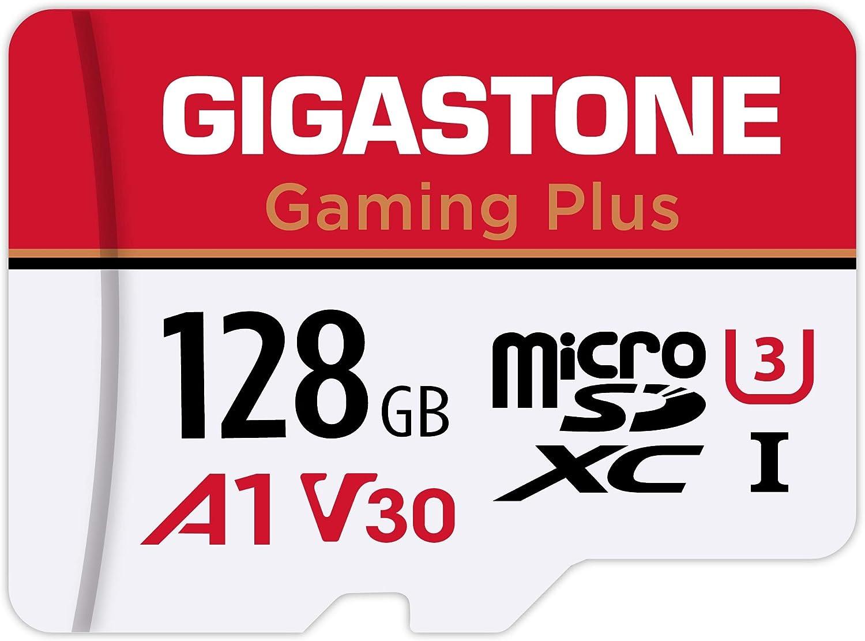 Gigastone マイクロSDカード 128GB