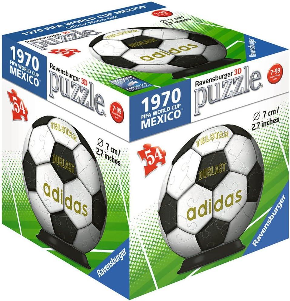 Ravensburger RPL119370 11937 - Bola de Puzzle en 3D, Multicolor ...