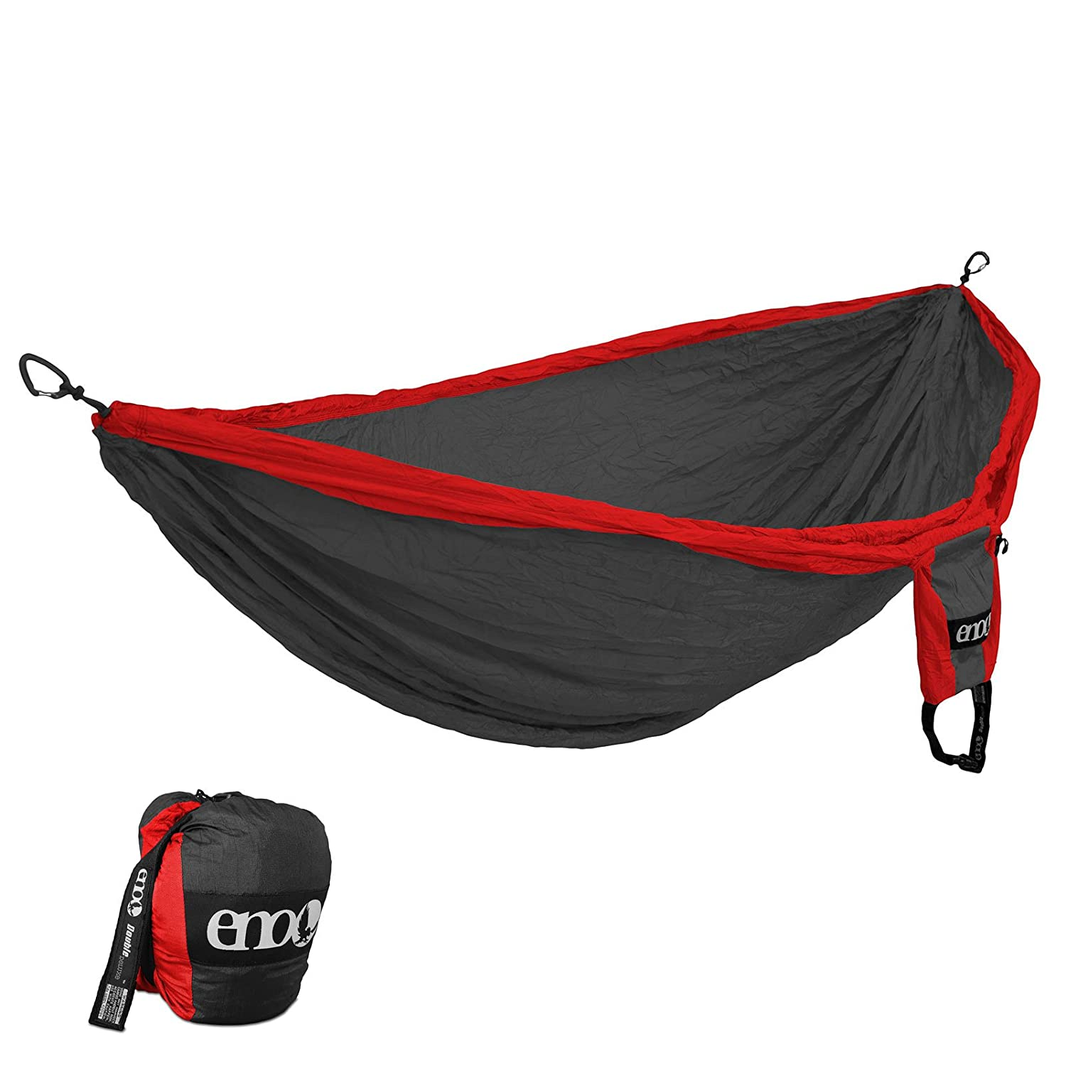 ENO Double Deluxe Hammock OneLink Tent System – Guardian Bug Net, Atlas Strap, and Tarp