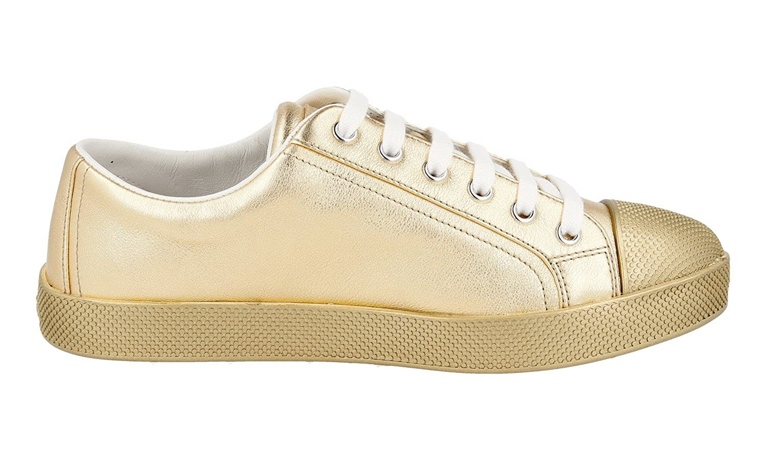 444def051f2 Prada Women s 3E6202 FCL F0522 Leather Trainers Sneaker  Amazon.co.uk  Shoes    Bags