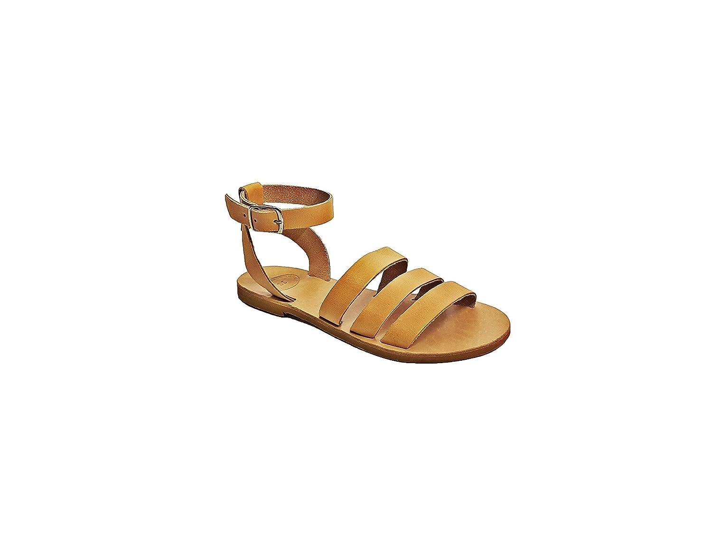 Women sandals ankle strap sandals Gladiator Natural Leather sandals Women shoes Greek sandals summer sandals
