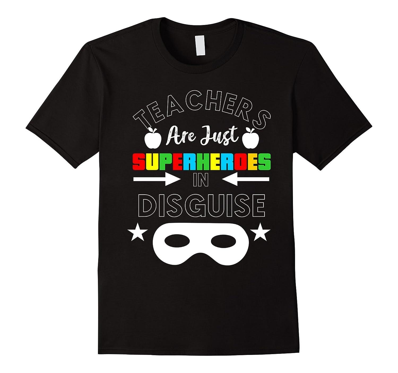 9a18531b Teacher - Superteacher Superhero Funny Teacher Gift T-shirt-ANZ ...