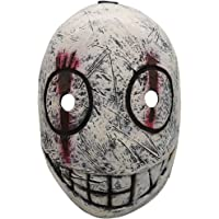 Bulex The Trapper Mask Legion Frank Mask Helmet Costume Props for Adult Halloween Cosplay Gray