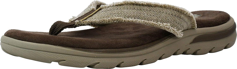 Skechers USA Men's Bosnia Flip-Flop Sandal