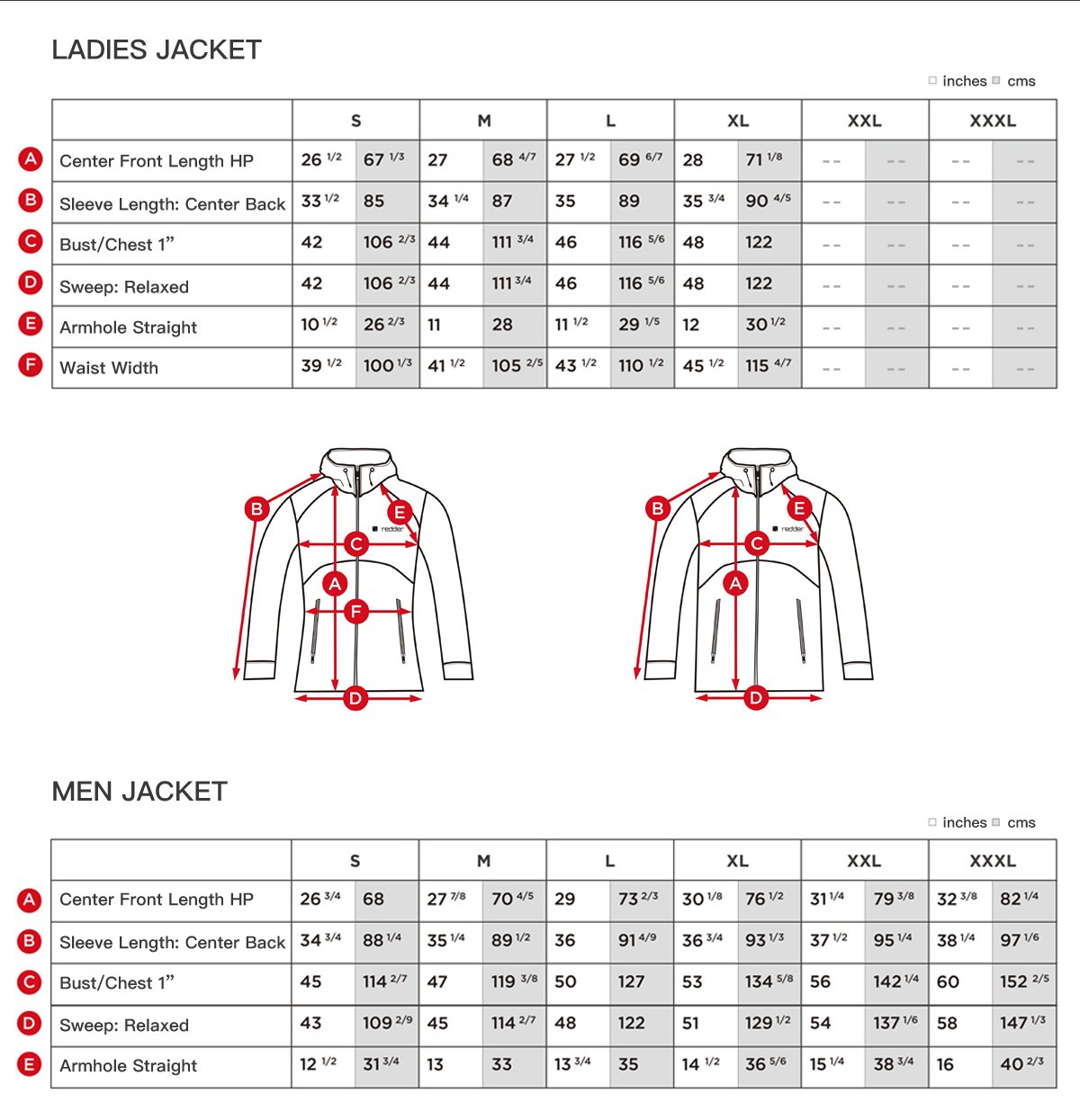 Redder Men Heated Jacket Lightweight Cotton Down Jacket Outwear with New Heating System 2017 Warm-keeping Auto-heated Winter Coat with USB Charged by Power Bank-Battery not Included by redder (Image #6)