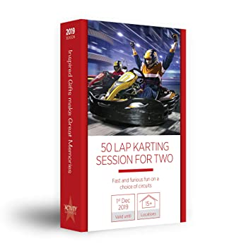Activity Superstore 50 Lap Karting Session for Two Gift