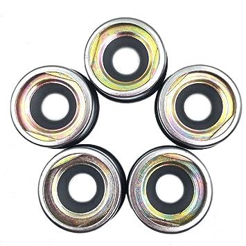 nikauto 5pcs/lot coche aire acondicionado Compresor Aceite sellos para 505 507 5h09 5h11 Compressor: Amazon.es: Coche y moto