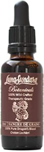 Luna Sundara Dragon's Blood 100% Pure Raw Sangre de Grado 1 Oz (Croton Lechleri) Wild Crafted and Ethically Sourced