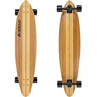 41-Inch Longboard ,Artisan Maple Skateboard Professional Complete Cruiser for Cruising, Carving, Free-Style and Downhill