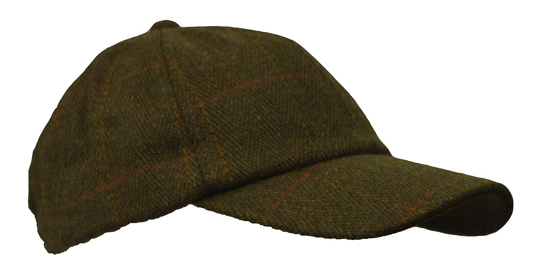 Walker & Hawkes - kids derby tweed baseball cap hunting shooting countrywear hat one-size KDSNSXTWDBCD