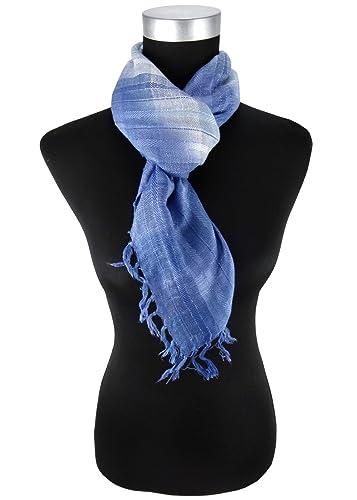 pañuelo en azul claro plata gris a cuadros con refriega – tamaño 90 x 90 cm