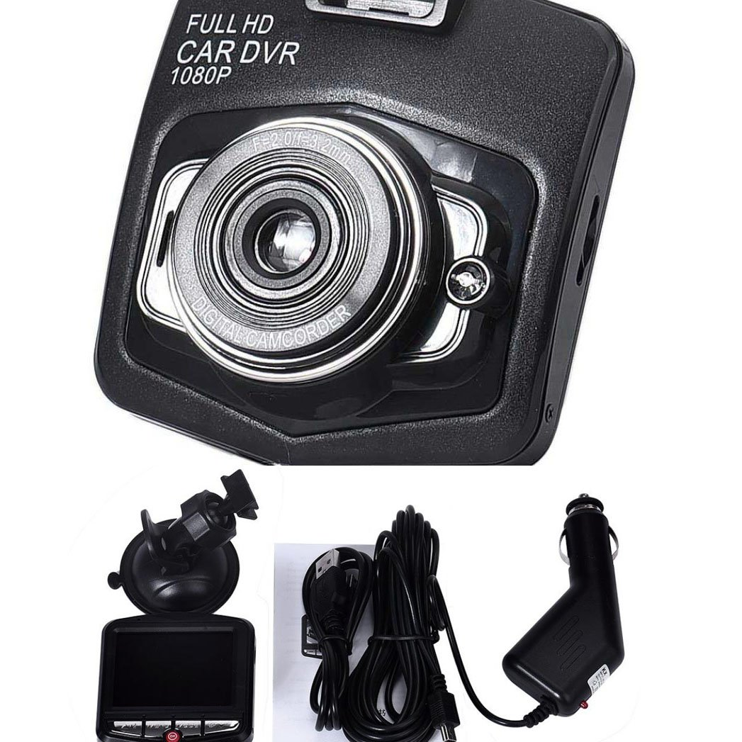 Usstore Full HD 1080P Car DVR Vehicle Camera Video Recorder Dash Cam G-sensor